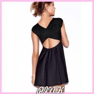 PINK Victoria Secret Criss Cross Skater Dress